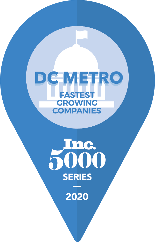 inc 5000  DC Metro fastest growing companies