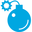 security vulnerability assessment icon